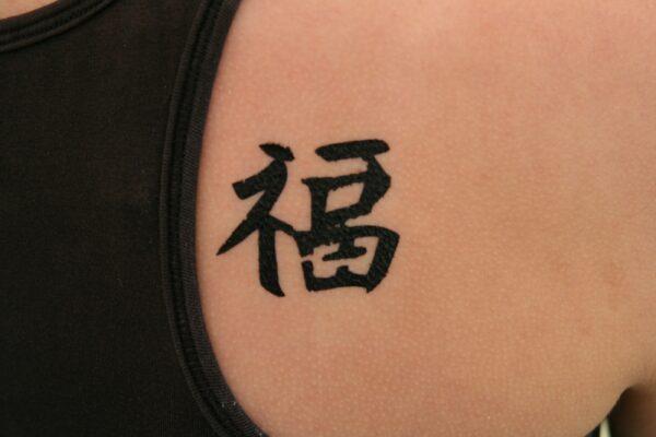 Temporäre Tattoo Farbe