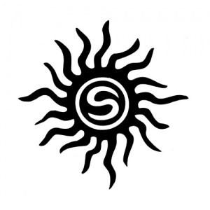 Schablone Glitzertattoo Temporäres Tattoo
